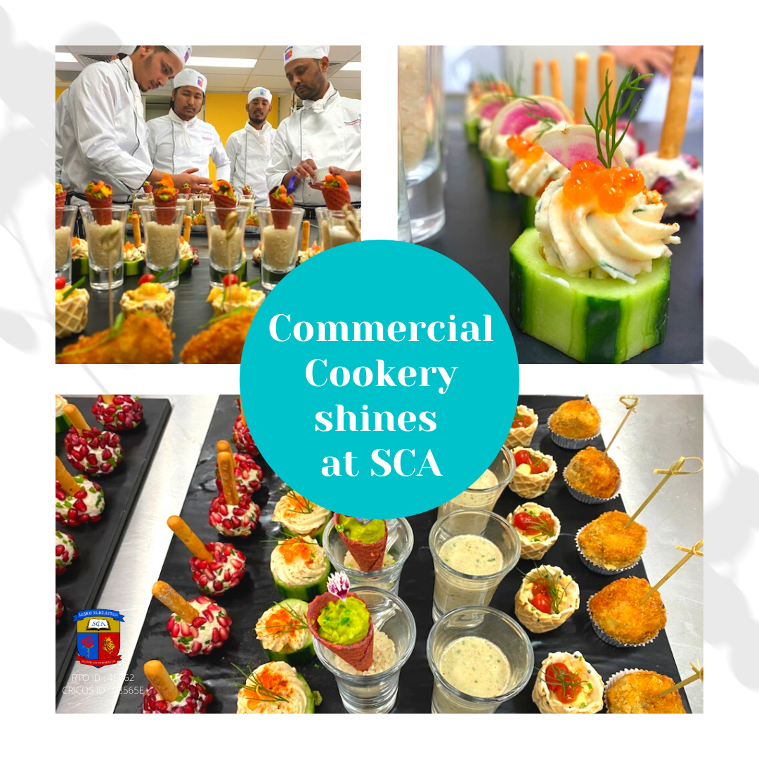 Commercial Cookery shines at SCA